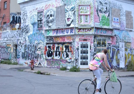 Street art in Montreal's Le Plateau