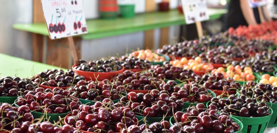Visiting Montreal's Jean-Talon Market in Summertime
