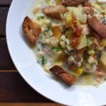 Portland, Maine Clam Chowder Recipe