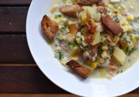 Portland, Maine Clam Chowder Recipe
