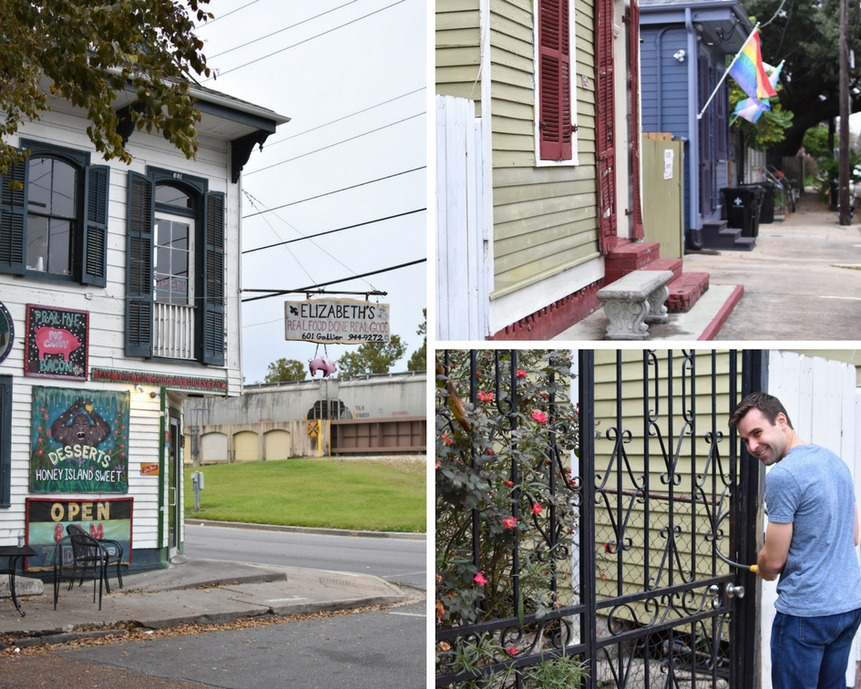 Exploring our neighborhood of Bywater, New Orleans