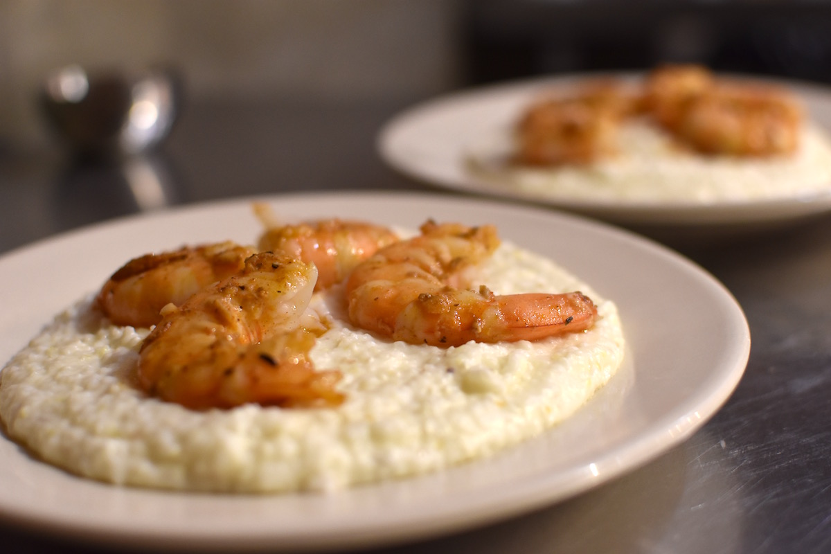 New Orleans School of Cooking: Shrimp n Grits