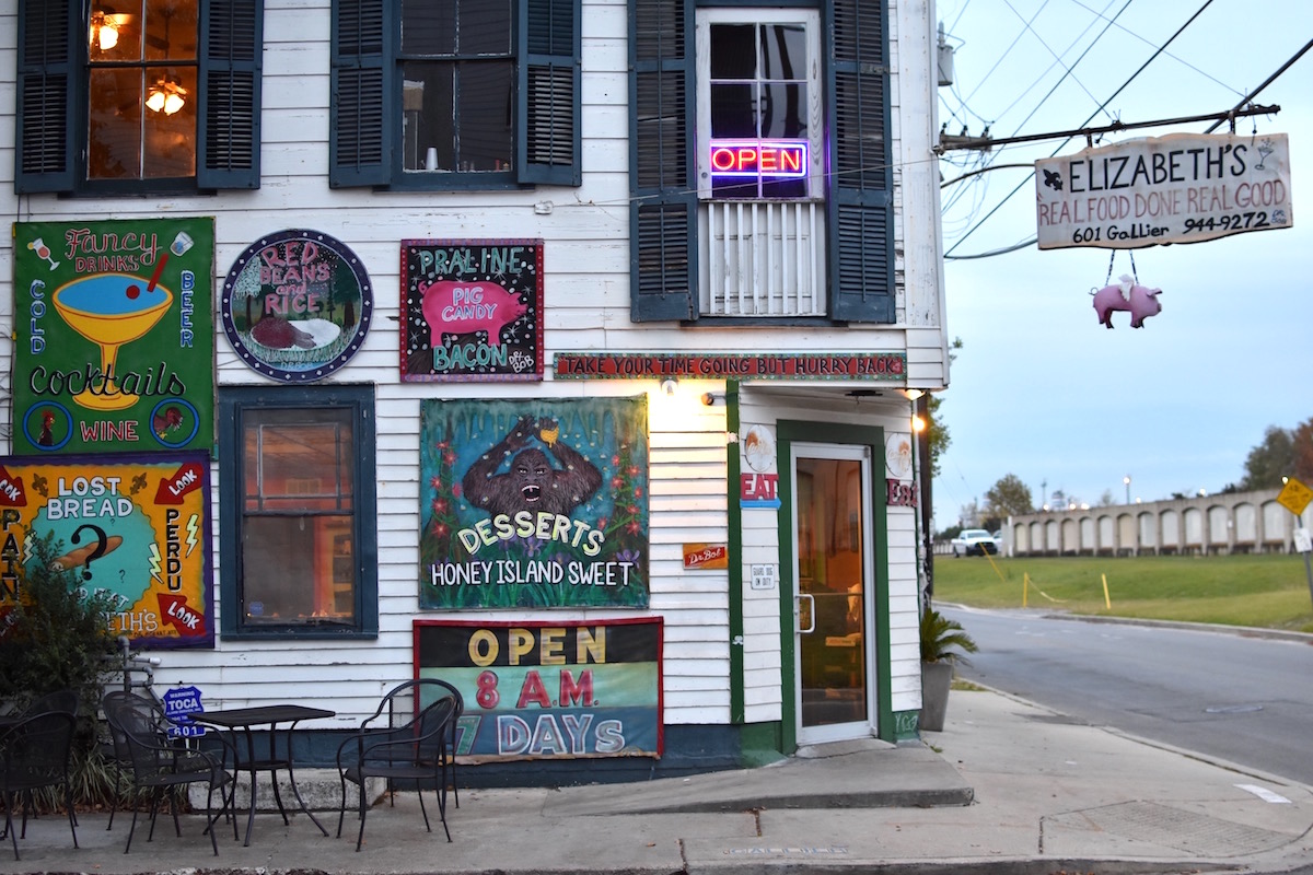 Where to eat in the Bywater: Elizabeth's