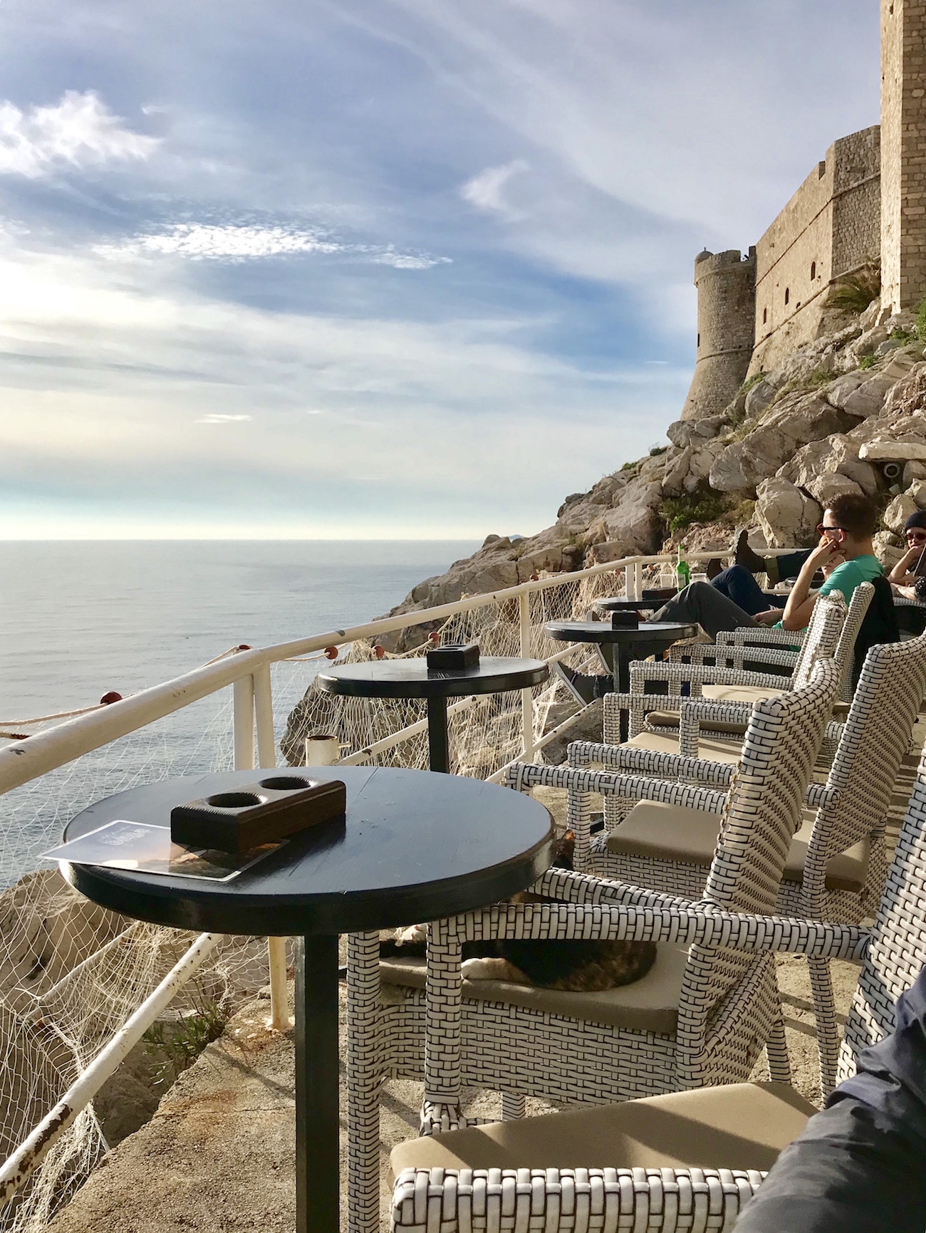 Winter visit to Dubrovnik, Croatia's Buza Bar