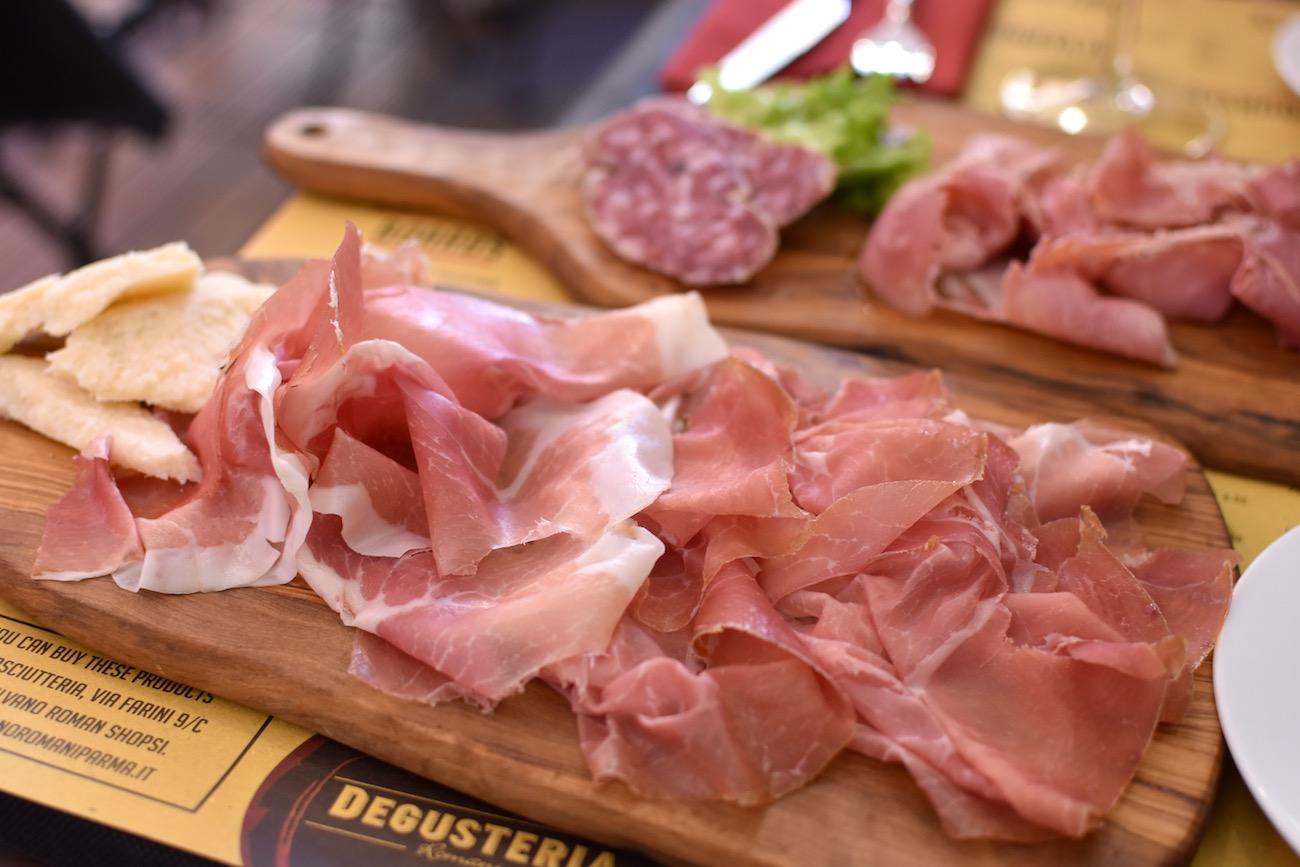 Prosciutto in Parma, Italy