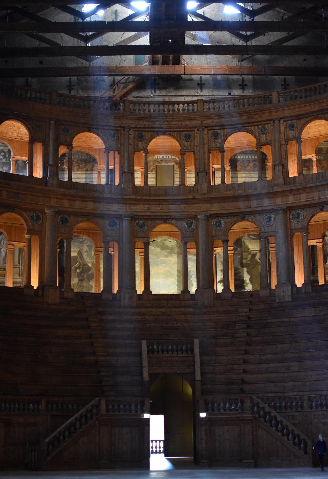 Farnese Theater, Parma Italy
