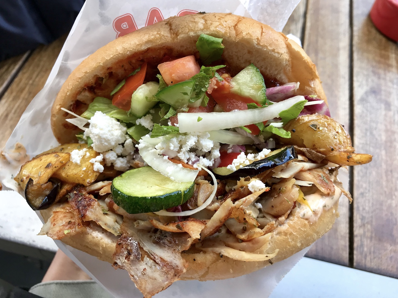 Doner kebab in Berlin, Germany