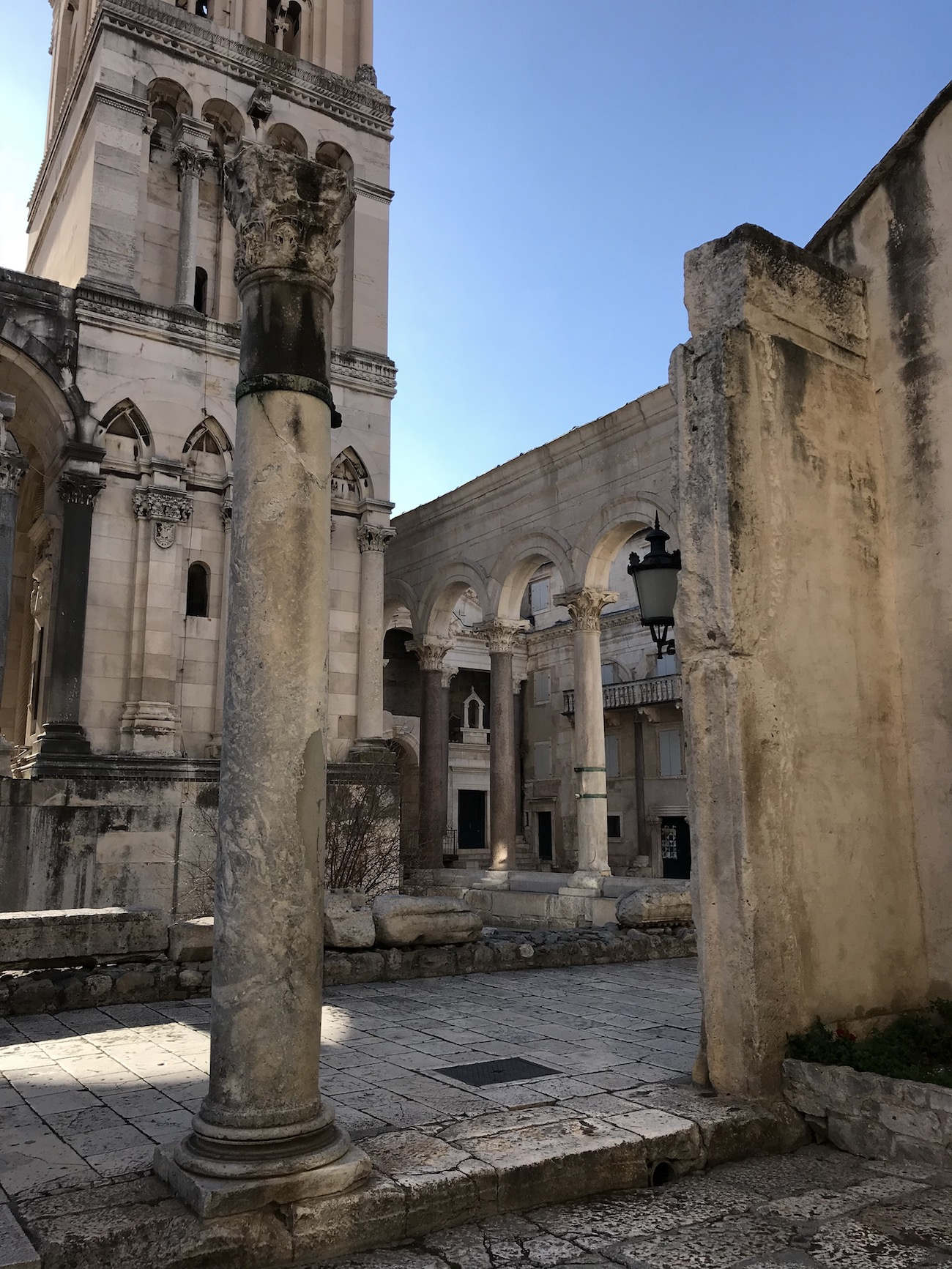 Visiting Split, Croatia
